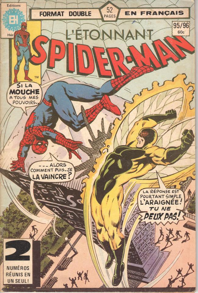 Couverture de L'Étonnant Spider-Man (Éditions Héritage) -9596- Les ailes de la terrible Mouche