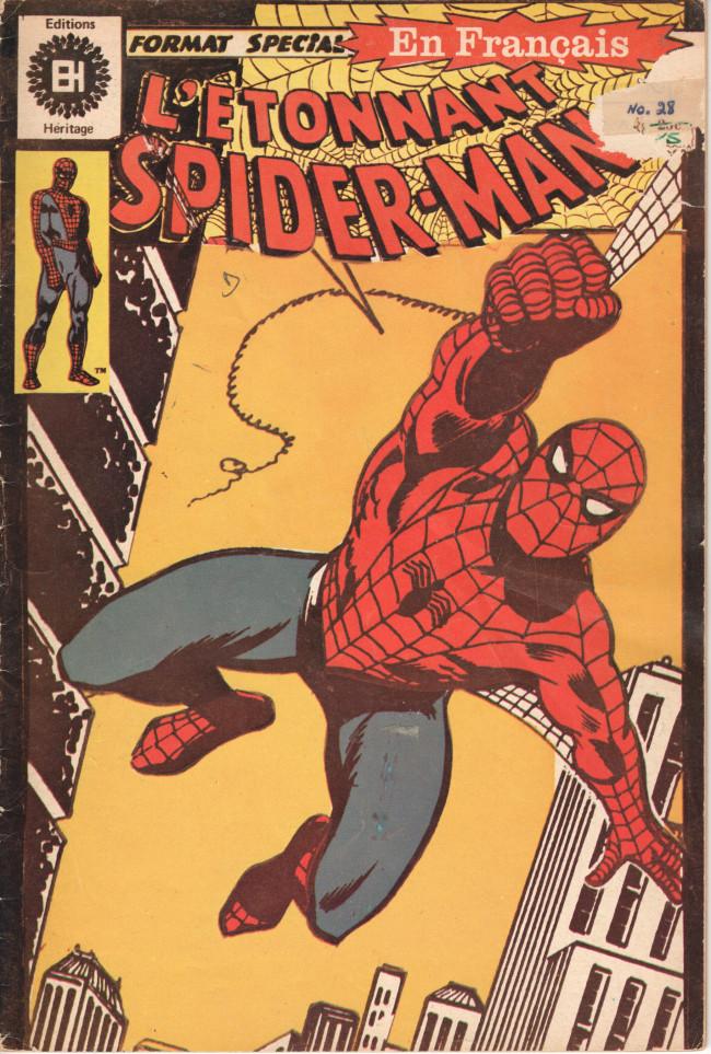 Couverture de L'Étonnant Spider-Man (Éditions Héritage) -28- Le kangourou rebondit !