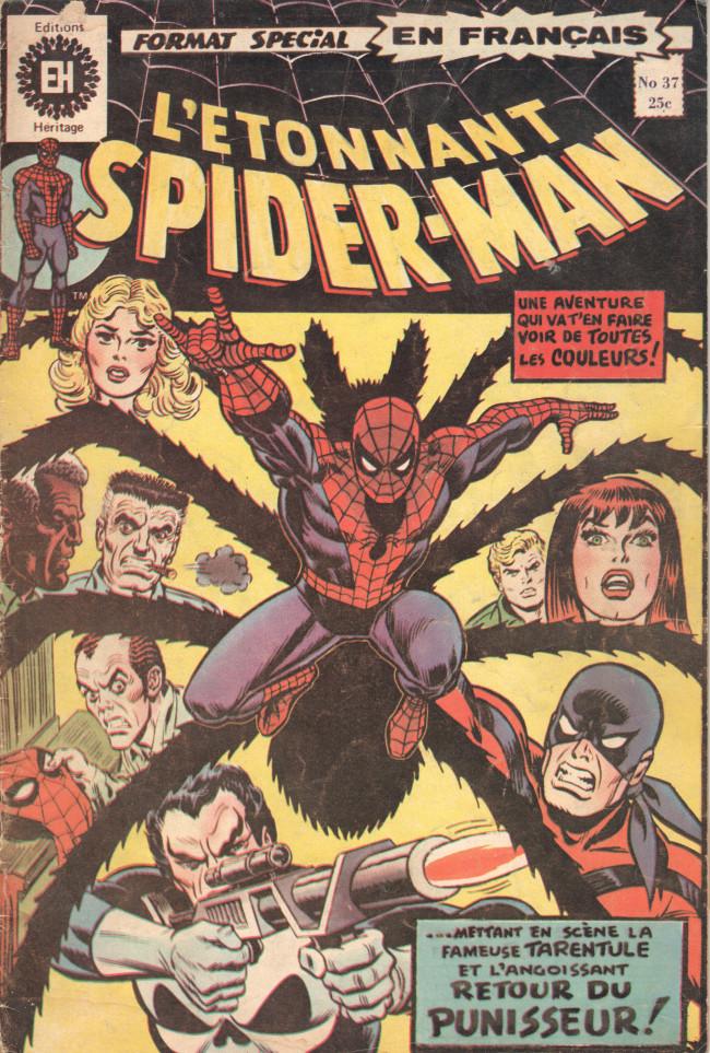 Couverture de L'Étonnant Spider-Man (Éditions Héritage) -37- Coups de feu à Central Park !