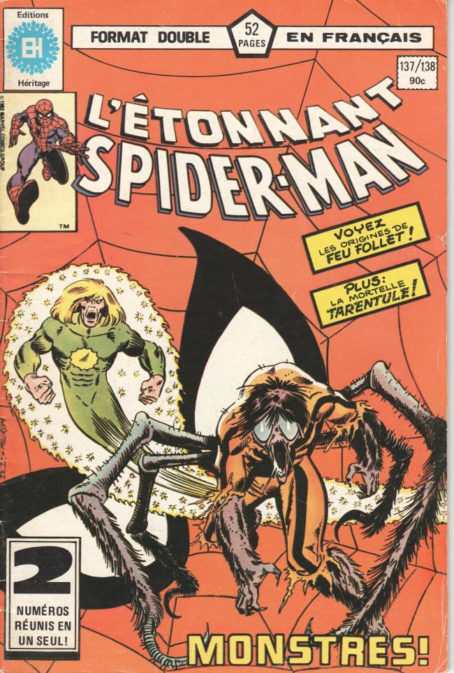 Couverture de L'Étonnant Spider-Man (Éditions Héritage) -137138- Monstres !