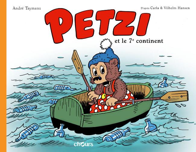 Couverture de Petzi (4è série) -HS- Petzi et le 7e continent