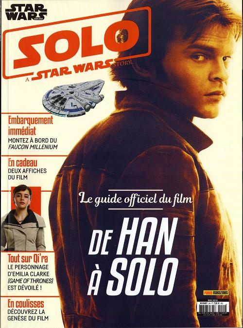 Couverture de Star Wars (Panini Comics - 2017) -HS2- Solo a Star Wars Story : le guide officiel du film