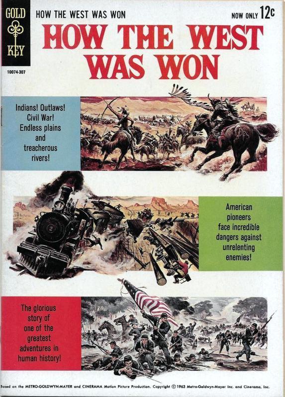 Couverture de Movie comics (Gold Key) -307- How The West Was Won