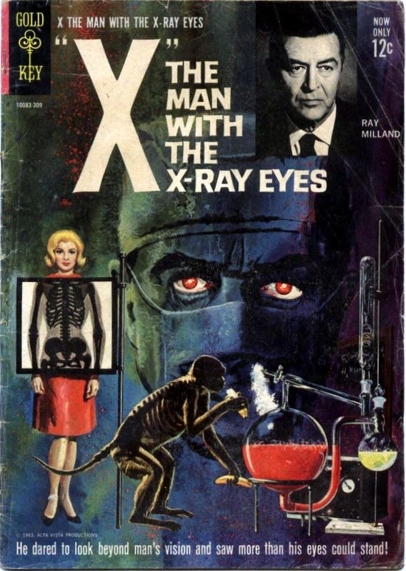 Couverture de Movie comics (Gold Key) -309- X, the Man with the X-Ray Eyes