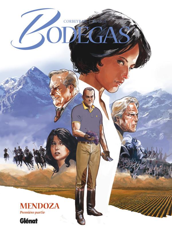 Couverture de Bodegas -3- Mendoza - Première partie
