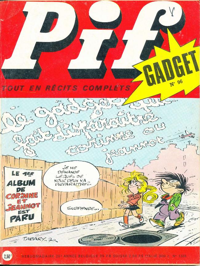 Couverture de Pif (Gadget) - Pif Numéro 96