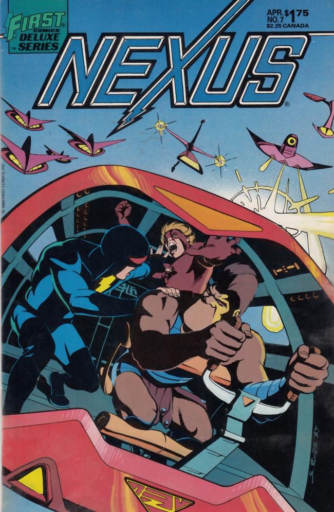 Couverture de Nexus (1983) -7- The Bowl-Shaped World
