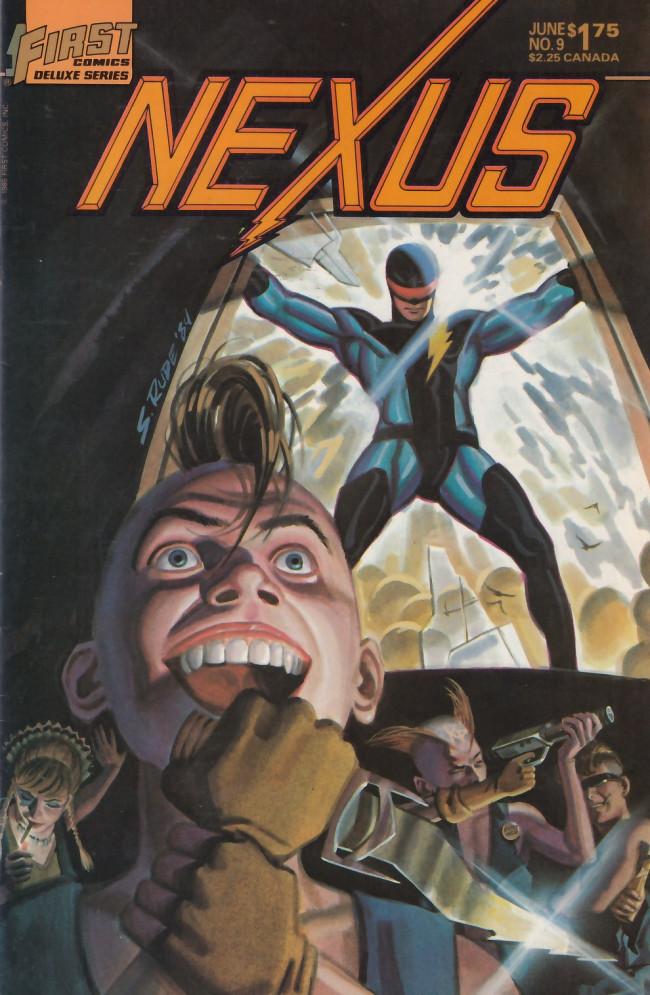 Couverture de Nexus (1983) -9- Teen Angel