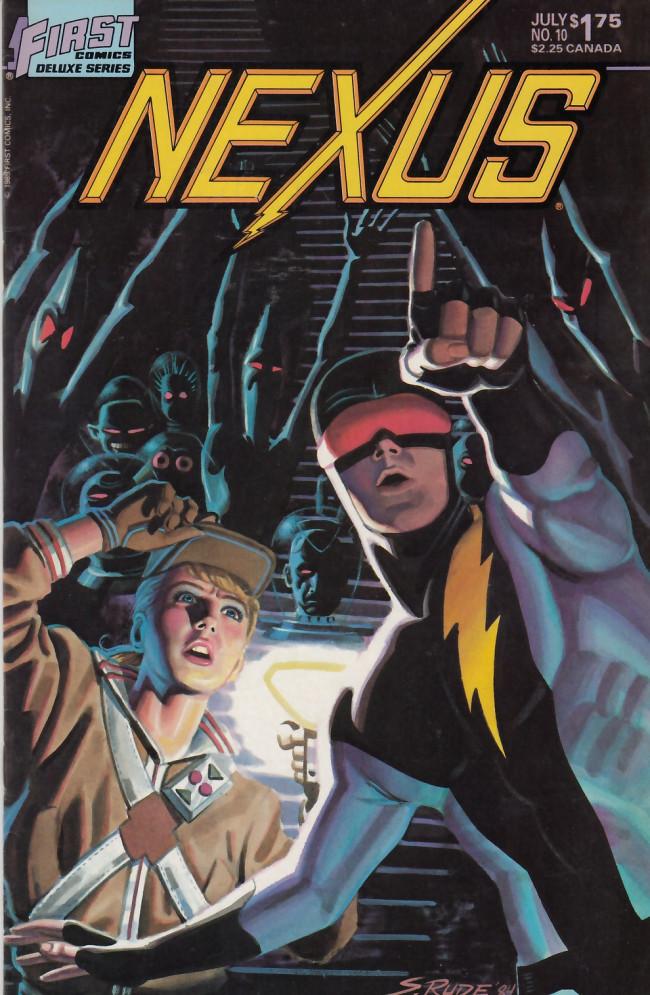 Couverture de Nexus (1983) -10- Talking Heads