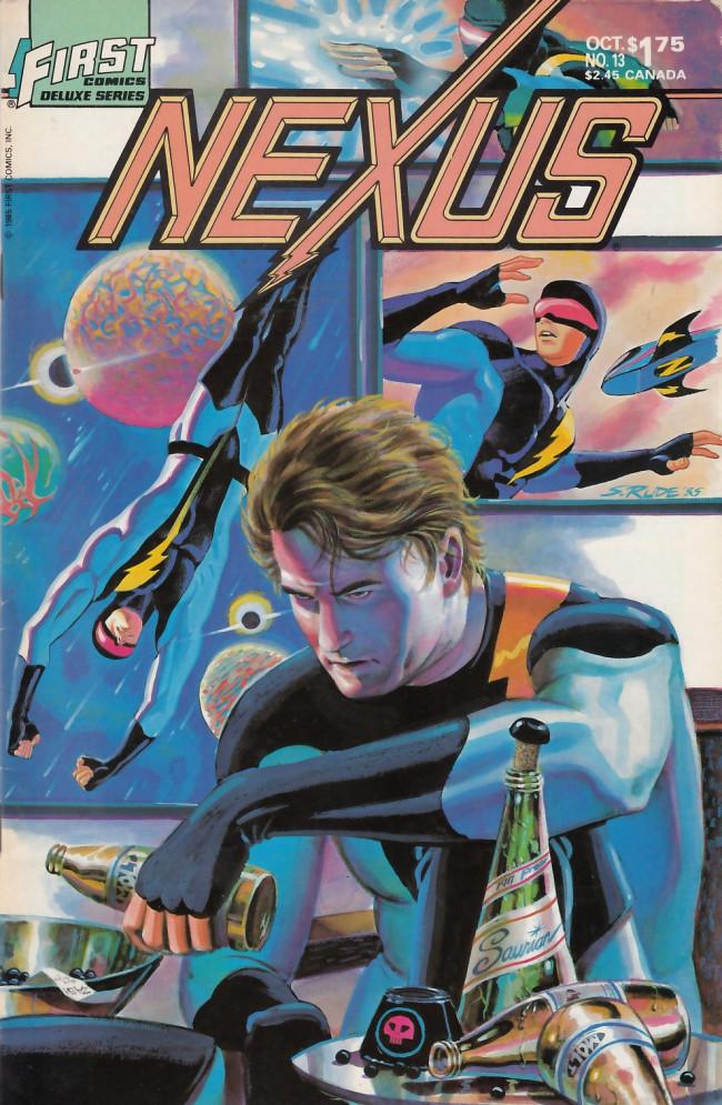 Couverture de Nexus (1983) -13- Insomnia