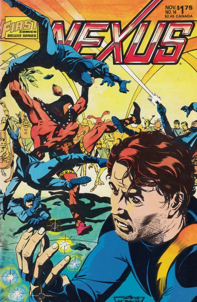 Couverture de Nexus (1983) -14- Killing Joke