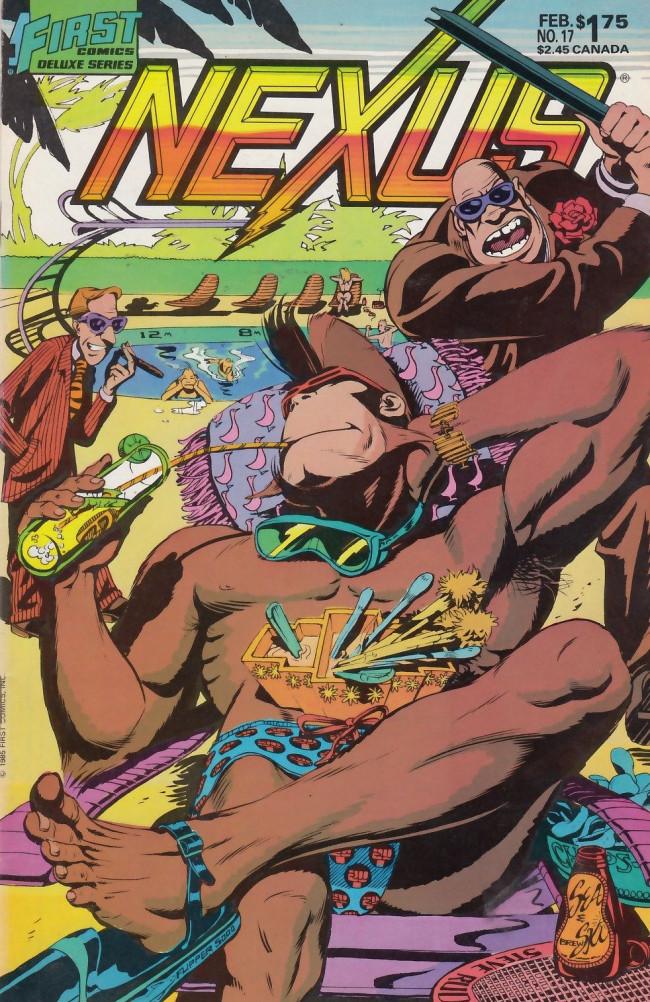 Couverture de Nexus (1983) -17- Yo, Jimbo!