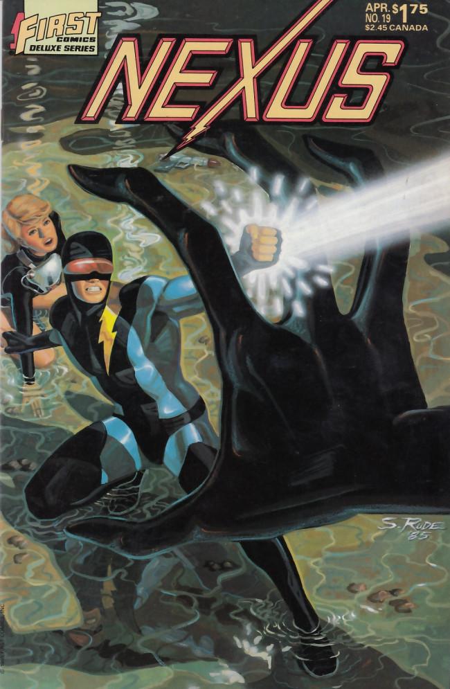 Couverture de Nexus (1983) -19- The Creature!