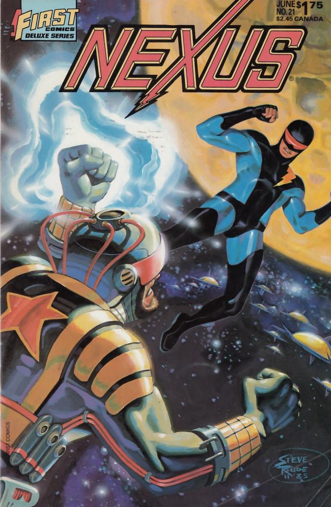 Couverture de Nexus (1983) -21- The Battle for Ylum