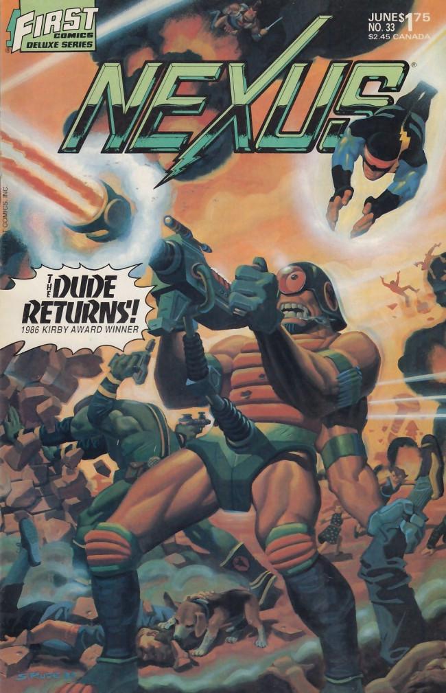 Couverture de Nexus (1983) -33- Rampage