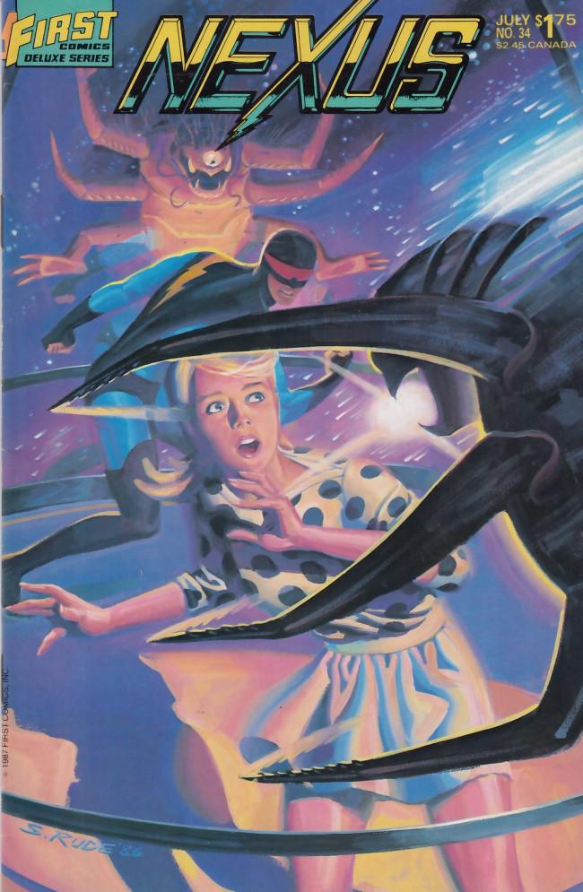Couverture de Nexus (1983) -34- The Crystal Ballroom