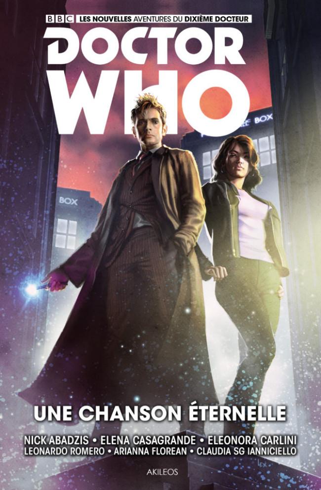 Couverture de Doctor Who (Les nouvelles aventures du dixième docteur) -4- Une chanson éternelle