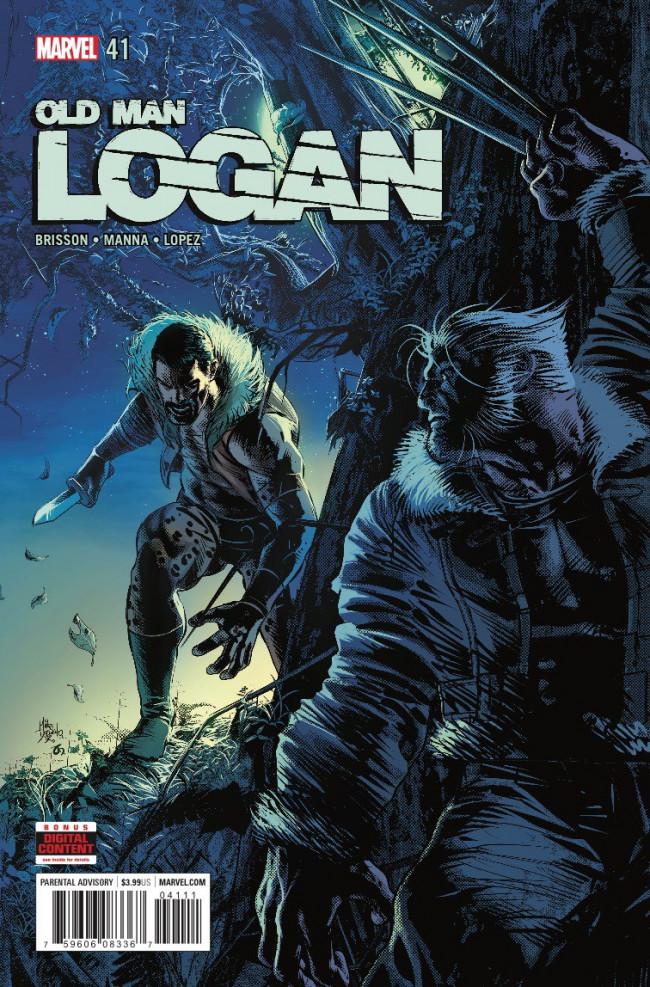 Couverture de Old Man Logan (2016) -41- Logan the Hunted: Part One