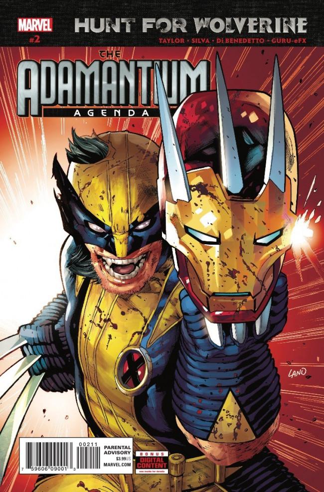 Couverture de Hunt for Wolverine - Adamantium Agenda -2- Issue #2
