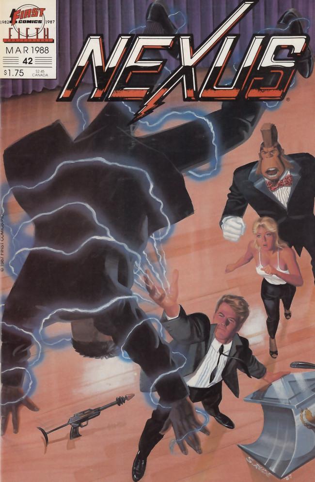 Couverture de Nexus (1983) -42- Clyde