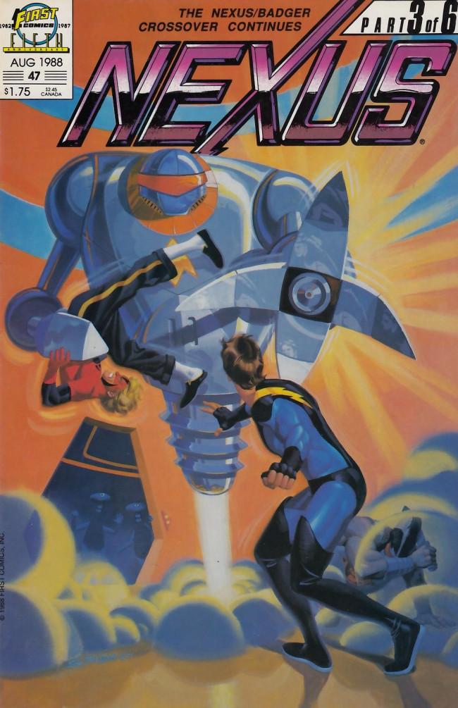 Couverture de Nexus (1983) -47- The Center [Part 3]