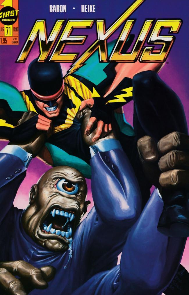 Couverture de Nexus (1983) -71- Breaking the Fusion Barrier