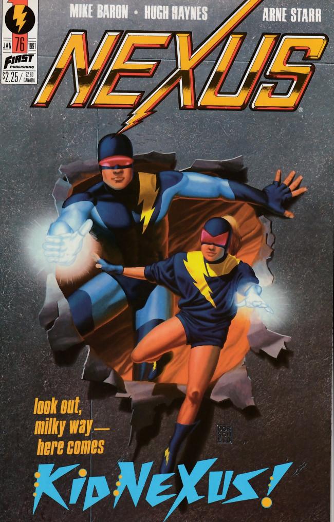 Couverture de Nexus (1983) -76- Four Strikes, You're Out!