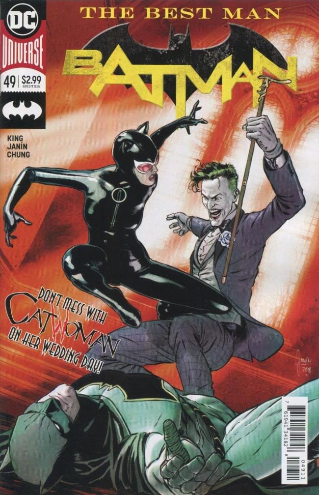 Couverture de Batman (2016) -49- The Best Man, Finale