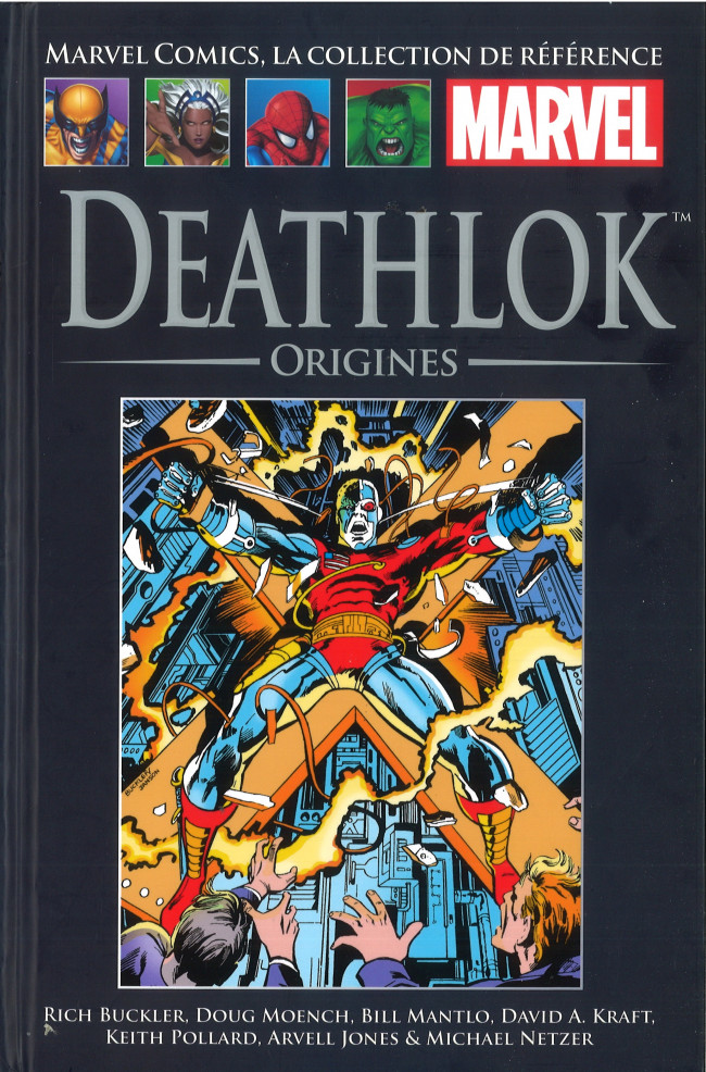 Couverture de Marvel Comics - La collection (Hachette) -113XXIX- Deathlok - Origines
