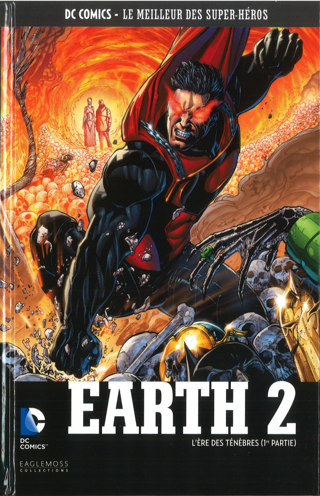 Couverture de DC Comics - Le Meilleur des Super-Héros -72- Earth 2 - L'Ère des ténèbres (1re partie)