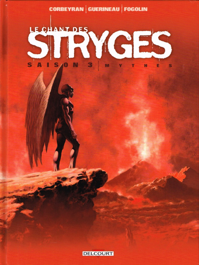 Couverture de Le chant des Stryges -18- Mythes