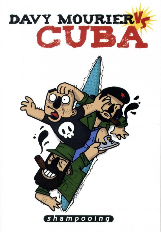 Couverture de Davy Mourier vs -1- Davy Mourier vs Cuba