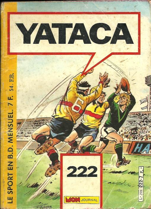 Couverture de Yataca (Fils-du-Soleil) -222- Séjour au vert