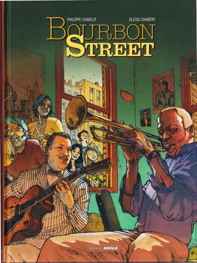 Couverture de Bourbon Street - Tome INT