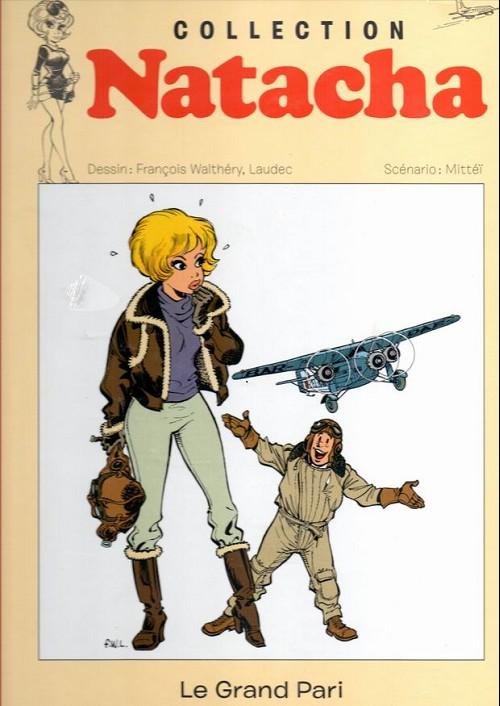 Couverture de Natacha - La Collection (Hachette) -11- Le grand pari