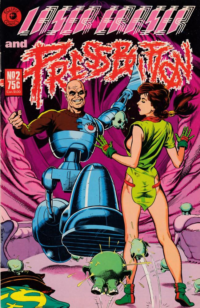 Couverture de Laser Eraser and Pressbutton (1985) -2- Laser Eraser and Pressbutton #2