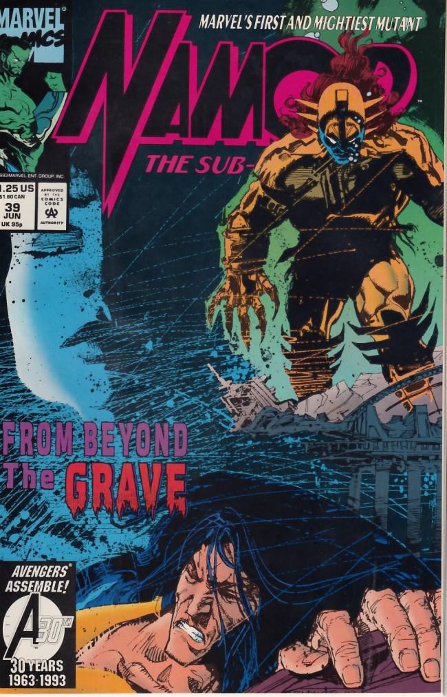 Couverture de Namor, The Sub-Mariner (Marvel - 1990) -39- Family Reunion