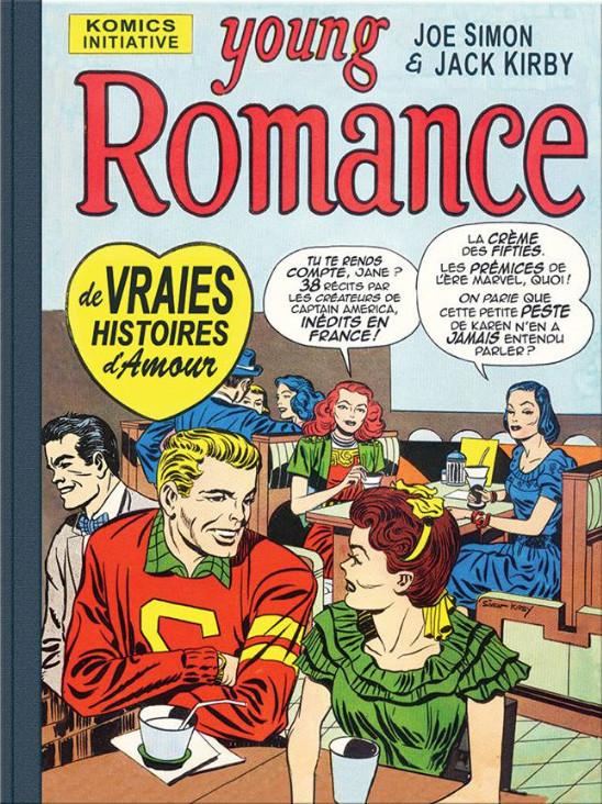Couverture de Young Romance (2018) - Une anthologie des Romance Comics de Joe Simon & Jack Kirby