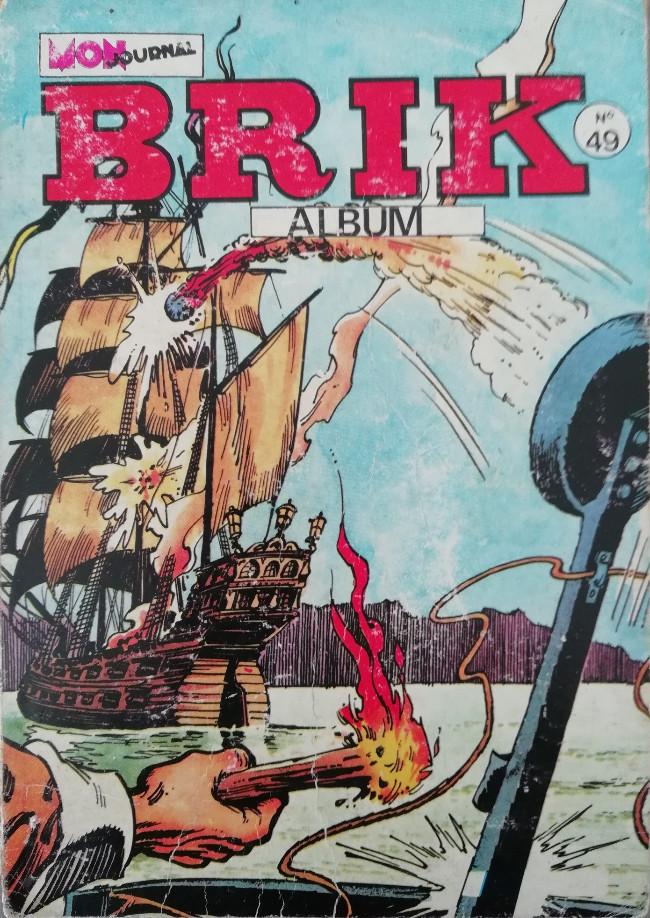 Couverture de Brik (Mon journal) -Rec49- Album N°49 (du n°182 au n°184)