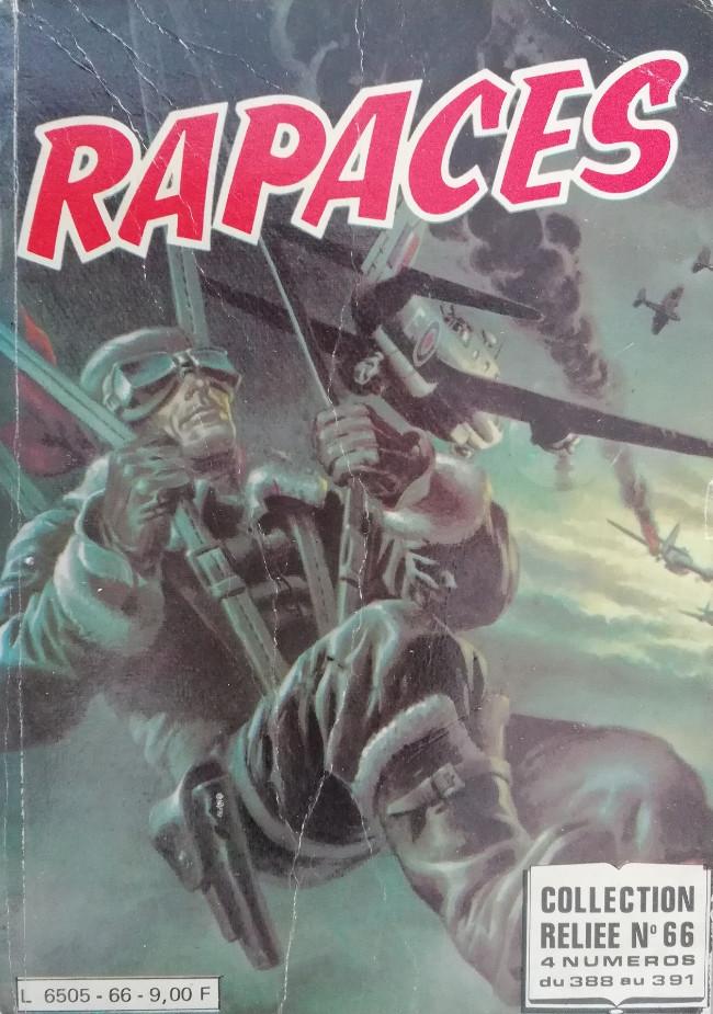 Couverture de Rapaces (Impéria) -Rec66- Collection reliée N°66 (du n°388 au n°391)