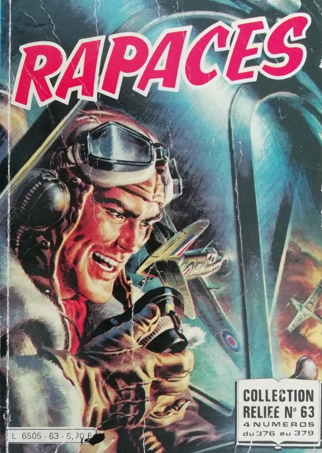 Couverture de Rapaces (Impéria) -Rec63- Collection reliée N°63 (du n°376 au n°379)