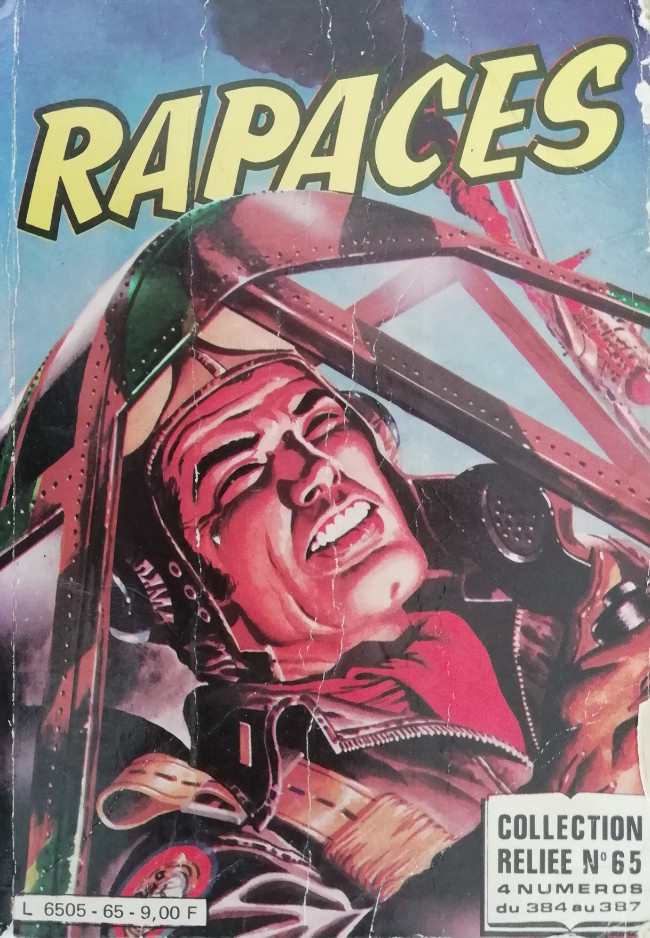 Couverture de Rapaces (Impéria) -Rec65- Collection reliée N°65 (du n°384 au n°387)