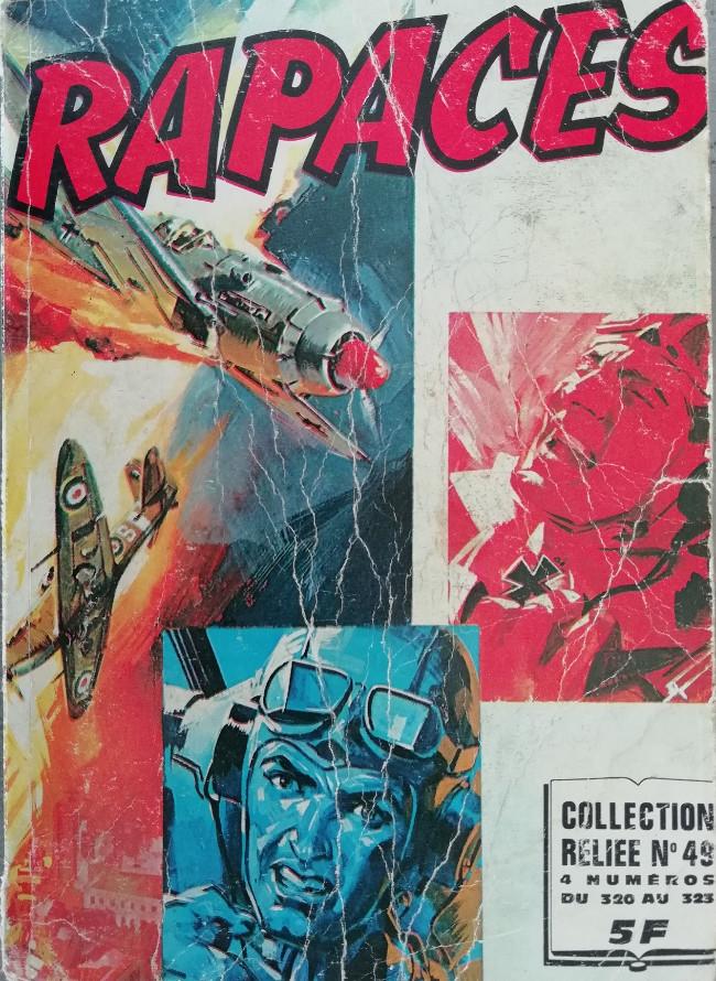 Couverture de Rapaces (Impéria) -Rec49- Collection reliée N°49 (du n°320 au n°3233)