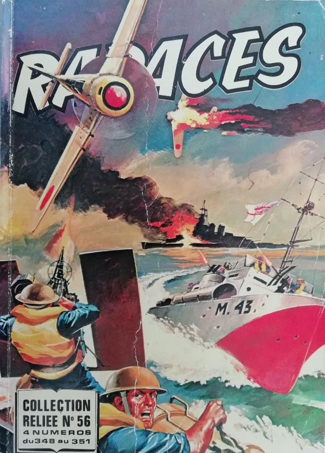 Couverture de Rapaces (Impéria) -Rec56- Collection reliée N°56 (du n°348 au n°351)
