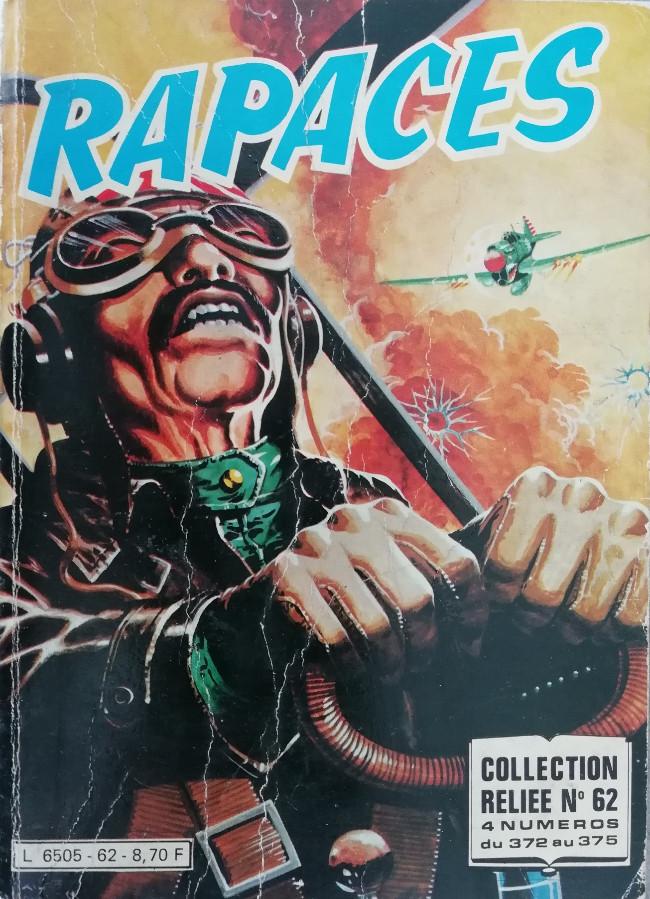 Couverture de Rapaces (Impéria) -Rec62- Collection reliée n°69 (du n°372 au n°375)