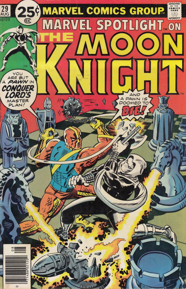 Couverture de Marvel Spotlight Vol 1 (1971) -29- The Deadly Gambit of Conquer-Lord!
