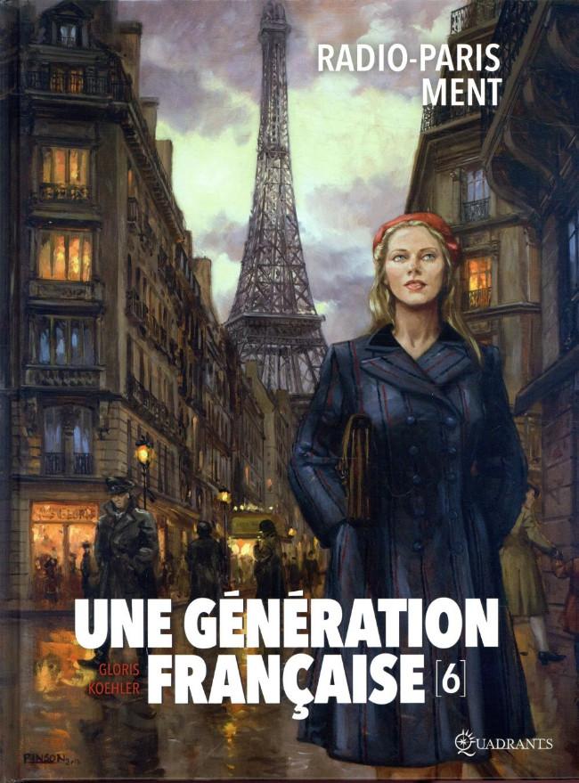 Couverture de Une génération française -6- Radio-Paris ment