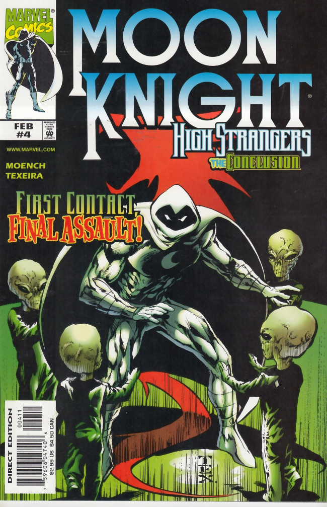 Couverture de Moon Knight: High strangers (1999) -4- High Strangeness Book Four Dragon's Madness