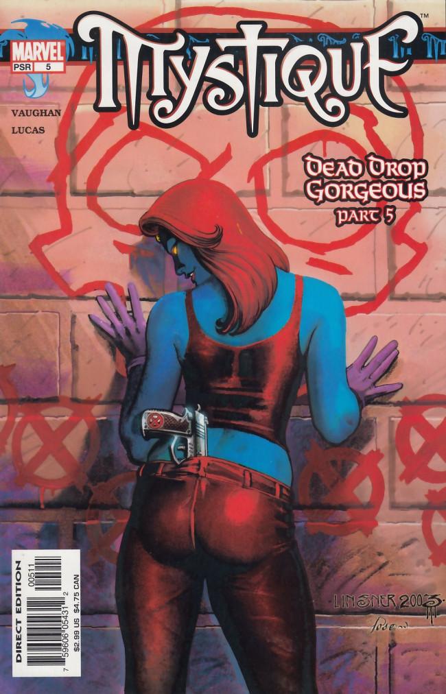 Couverture de Mystique (2003) -5- Dead Drop Gorgeous Part 5