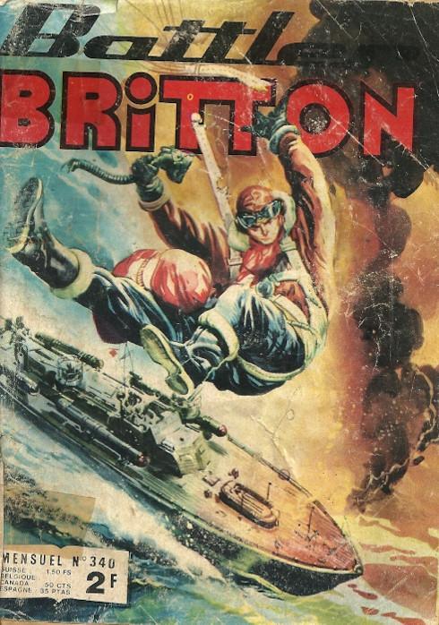 Couverture de Battler Britton -340- Les tigres du ciel